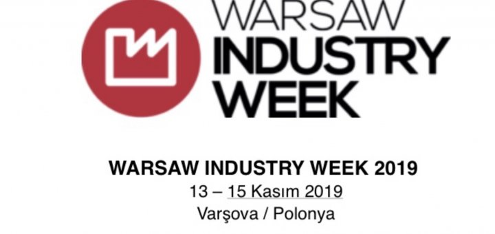 13 - 15 November of 2019 Warsaw Industry Week