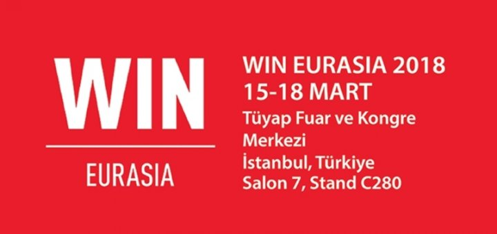 15-18 March of 2018- Win Eurasia Exhibition